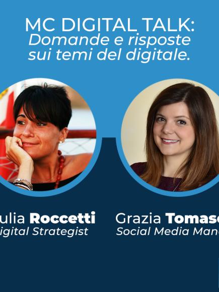 MC Digital Talk – Domande e risposte sui temi del digitale